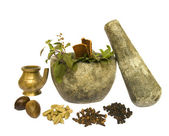 Ayurveda Natural Health — Stock Photo