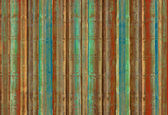 Blue green and red bamboo stripes — Stock Photo