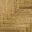 Grass rope weave background — Stockfoto