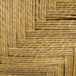 Foto Stock: Grass rope weave background