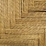 gras touw weven achtergrond — Stockfoto