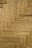 Grass rope weave background — Stock Photo
