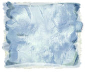 Watercolor blue abstract background — Stock Photo