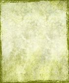 Vintage stained green plaster background — Stock Photo