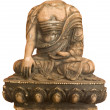 Buddha headless isolated — Stock Photo