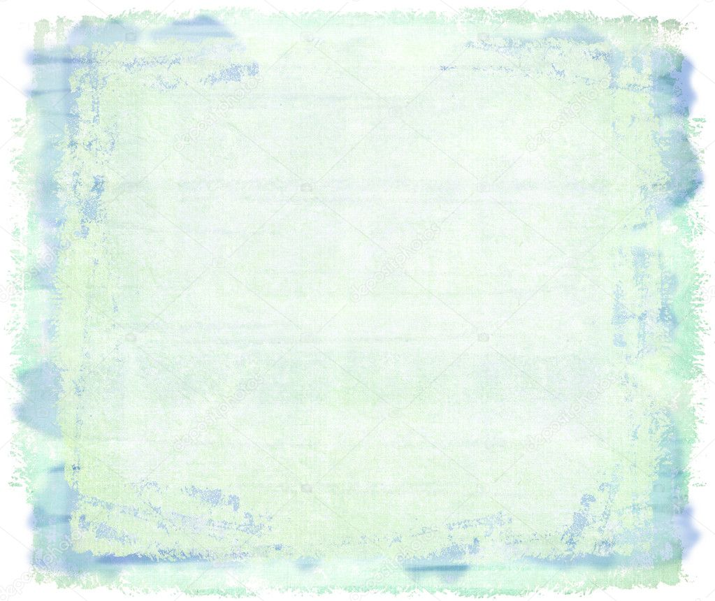Blue watercolor on canvas backgroung with text space  — 图库照片 #2589186