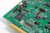 Computer electronic circut — Stock Photo