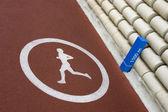 Running Track — Stockfoto