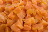 Diced carrots — Stock Photo