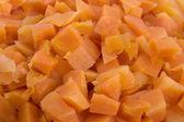 Diced carrots — Stock Photo