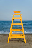 Lifeguard seat — Stock Photo