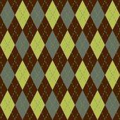 Argyle seamless pattern — Stock Photo