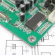 Printed circuit board — Stockfoto #1917219