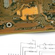 Printed circuit board — Stockfoto #1917851