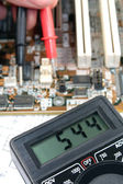 Electronic meter — Stock Photo