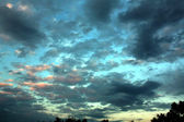 Himmel nach Sonnenuntergang — Stockfoto