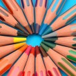 Crayons rainbow — Stock Photo