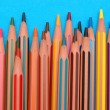 图库照片: Coloured pencils