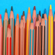 Foto de Stock  : Coloured pencils