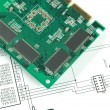 Printed circuit board — Stock Photo #2166590