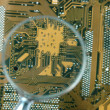 Stock Photo: Printed circuit board