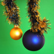 Chrismas baubles — Stock Photo