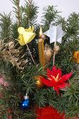 Christmas, decorations — Stock Photo