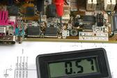 Electronic meter — Stock Photo