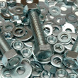 Screws and washers — Stock Photo