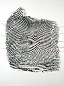 Fingerabdruck — Stockfoto