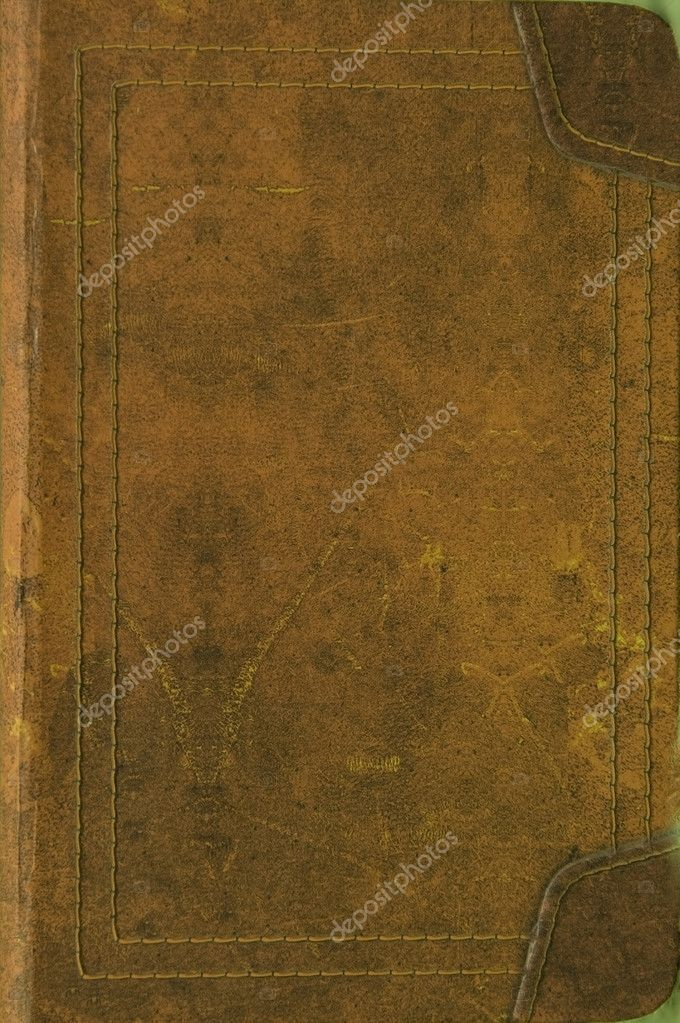 Book Cover Stock Images : Old leather book cover — stock photo skaljac