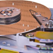 Internals of a hard drive - Stockfoto