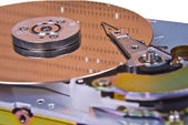 Internals of a hard drive — Stock Photo