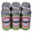 No-name drink cans — Stock Photo