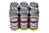 No-name drink cans — Foto Stock