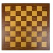 Stock Photo: Wooden chessboard