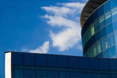 Glass facade - corporate building — Stock Photo