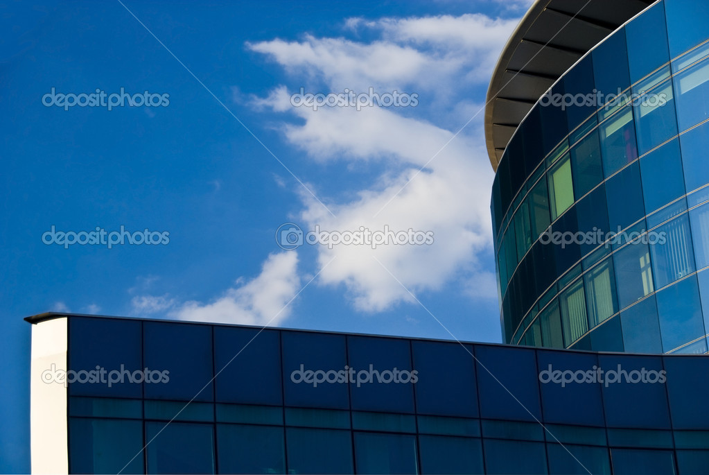Glass facade - corporate building  — Stock Photo #1952959