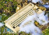 Obsolete computer — Stock Photo