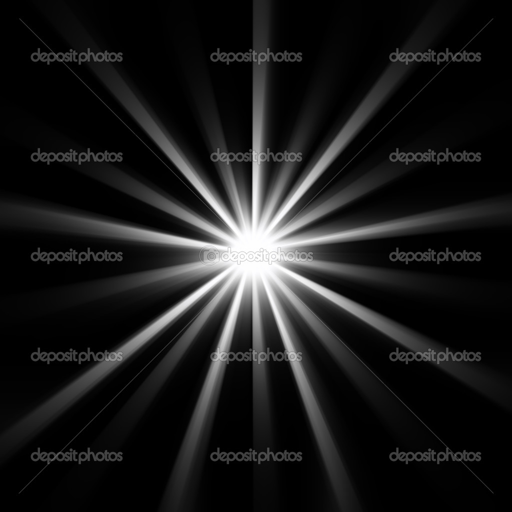 Bright star in dark space   Stock Photo #2045802