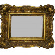 Royalty-Free Stock Photo: Two empty wooden picture frame
