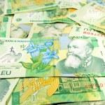 Romanian banconotes — Stock Photo