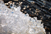 Hielo y agua — Foto de Stock