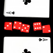 Stock Photo: Poker set