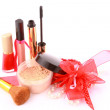 Stock Photo: Glamour cosmetick set