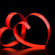 Royalty-Free Stock Photo: Hearts on St. Valentine Day.