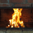 Royalty-Free Stock Photo: Cosy fireplace.