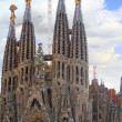 Temple Sagrada Familia in Barcelona, Spain. — Stock Photo #1897676
