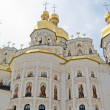 Dormition Cathedral in Pechersk Lavra in Kiev. - Stock Photo