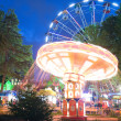 Stock Photo: Night illumination in Park Rivier, Sochi city